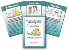 We hope you will participate and post comments about your own experiences. You can get a copy of the Positive Discipline Parenting Tool Cards on the Positive Discipline Website and/or download the App for iPhone and Android. It would also be helpful to read a Positive Discipline Book during the year.