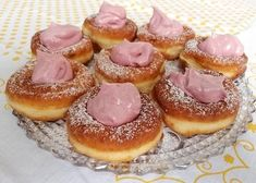 Šišky, recept, Iné | Tortyodmamy.sk Dessert Recipes, Desserts, Doughnut, Life, Hampers, Tailgate Desserts, Dessert, Desert Recipes, Deserts