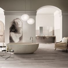"""ABK Group Industrie Ceramiche """"Secret"""" #madeinitaly #ceramics Coverings Booth 1945"""