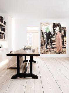 Minimal in white. A study. Copenhagen. Designer: Anouska Hempel.