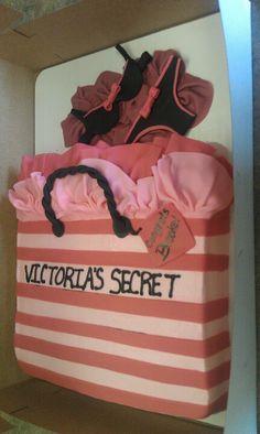 cc2479c6d6d7 Victorias Secret Bridal shower cake! Too Cute! Bridal Lingerie Shower
