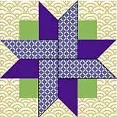 tutorial for this pinwheel block...would be a great card in ... : free star quilt block patterns - Adamdwight.com