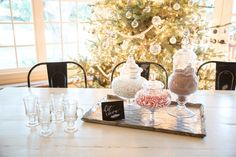 Hosting dinner parties is one of my favorite things to do- I love any opportunity to gather around a table and share a meal with friends and family. Given the season, I'd venture to guess that you have some entertaining. Cozy Christmas, Christmas Treats, Christmas Lights, Christmas Decor, Holiday Decor, Magnolia Homes, Magnolia Market, Hot Cocoa Bar, Hot Chocolate Bars