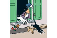 Tintin goes to London