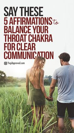 5 Affirmations to Balance Your Throat Chakra for Clear Communication