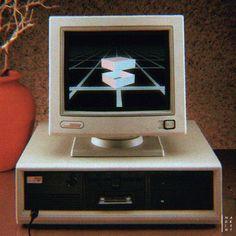 Nadrient 90s 80s retro computer