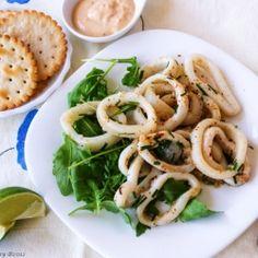 Different ways to prepare calamari