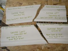 Woodworking Projects crown molding templates via Sawdust Girl - Cutting crown molding can be frustrating. Using crown molding templates helps take the confusion out of cutting crown molding. Woodworking Projects, Wood Projects, Woodworking Quotes, Woodworking Patterns, Woodworking Shop, Woodworking Beginner, Woodworking Organization, Japanese Woodworking, Woodworking Joints