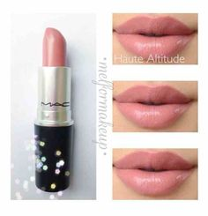 Mac!!!!!!!!!!!!!!!!!!!!!!! Cute neutral Mac lip. Lipstick that goes with every event. Prom. Wedding. School. Work. Everyday. Also for black women. I myself have the same color #lipstickcolor #lipcolorsforblackwomen #weddinglipcolors