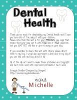 Dental health unit
