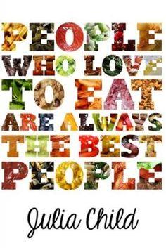 We are foodies! Eat Smart, Eat Healthy!