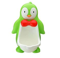 Cartoon Penguin Baby Potty Toilet Seat Urinals
