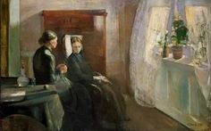 Edvard Munch: Vår, 1889. Nasjonalmuseet for kunst, arkitektur og design