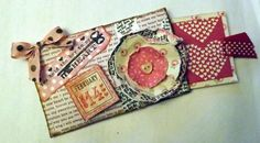 Darling Upcycled Toilet Paper Roll Valentine by Teriberries, $4.00