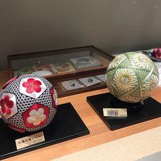 Beautiful #temari in #Kanazawa #Japan #Ishikawa #JapaneseTraditions #folkarts #日本 #石川 #金沢 #手まり