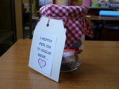 Diy And Crafts, Lunch Box, Jar, Education, San Valentino, Decoration, School, Blog, Ideas