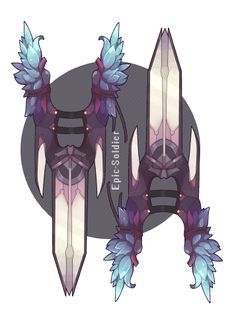 Weapon commission 63 by Epic-Soldier.deviantart.com on @DeviantArt