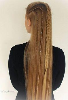viking braids <3
