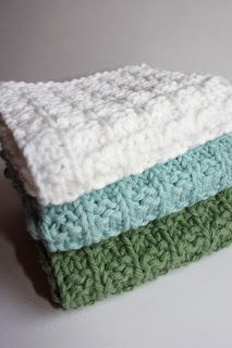 Simple Knitted Gift Idea - LIME RIOT