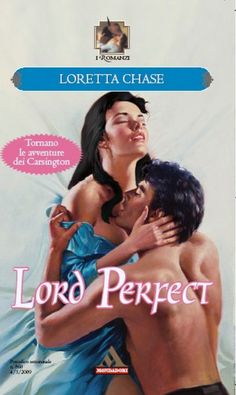 Lord Perfect by Loretta Chase (Carsington Brothers #3) Italian Cover.