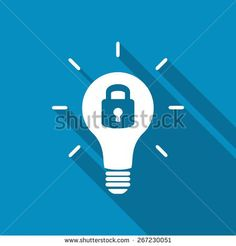 stock-vector-patent-idea-or-patented-solution-locked-or-protected-light-bulb-icon-267230051.jpg (450×470)