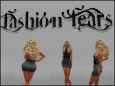 PUBLICIDAD Y MARKETING PARA SECOND LIFE: Fashion Fears // Regalo de grupo. Vestido Casual para chicas lindas