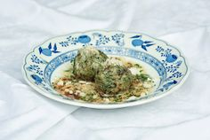"""The one and only """"Spinach Dumplings"""" by Roswitha Kometer, Hotel Sonnbichl. Holiday Resort, Dumplings, Anton, Alps, Spinach, Cooking, Ethnic Recipes, Food, Kitchen"""