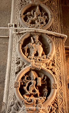 This is called the Annamalaiyar Temple and is dedicated to Lord Shiva. Main Entrance Door, The Holy Mountain, Sitting Posture, Place Of Worship, Wall Sculptures, Shiva, Temples, Metal Art, Cave