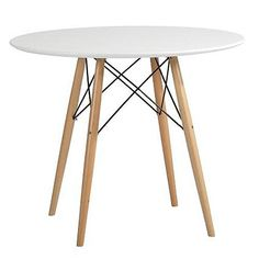 90 cm - ZINZAN - Classic design at affordable prices; Eames Dining, Eames Chairs, Dining Table, Lino Design, Eames Chair Replica, Eames Furniture, Mid Century Dining, Buy Furniture Online, Milan