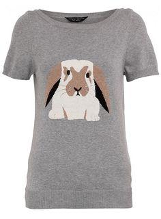 Flop eared bunny shirt sweater