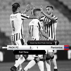 #PAOKPGSS 3-1 #GreekCup #PamePAOKARA