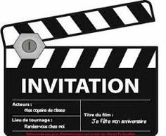Carte d'invitation anniversaire personnaliser - Planet Cards