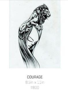 Courage Sam Flores ...my fav, cause I'm a Leo