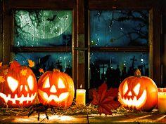 Happy Halloween Gif, Nightmare Before Christmas Halloween, 31 Days Of Halloween, Spooky Halloween, Vintage Halloween, Halloween Crafts, Halloween Decorations, Halloween Kunst, Halloween Artwork