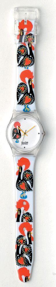 Relógio com o Galo de Barcelos. Retirado de: http://www.terra-lusa.com/coleccao.html
