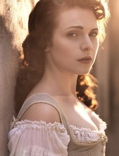 The Musketeers BBC - Constance (very pretty, but none of the women on this show seem to know that they're wearing their underwear on the outside!)