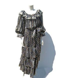 0c4fca67415 peasant blouse – ARCHIVE Vintage Designer Clothing, Peasant Blouse, Vintage  Ladies, Yves Saint