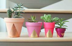 DIY - Vaso de cerâmica decorativo - AP202