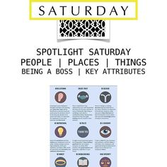 SPOTLIGHT SATURDAY PEOPLE | PLACES | THINGS BEING A BOSS | KEY ATTRIBUTES  Being a boss takes a certain caliber and mix of attributes. You need the right balance of know how, team building, integrity and managerial skills. You also need to be a good listener, build trust with your team, be decisive, and be a visionary Do you have what it takes to be a boss?  #marshab #theapartmentsocialite #shopping #living #apts #infographic #fashion #love #  #new #listen #polite #visionary #career #honest…