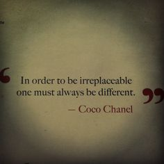 Wise Words by Coco Chanel