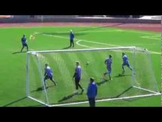 Soccer Shooting Drill - YouTube