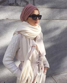 Hijab outfit and turban Hijab Chic, Stylish Hijab, Modern Hijab, Modest Wear, Modest Outfits, Modest Fashion, Hijab Fashion, Fashion Outfits, Turban Fashion