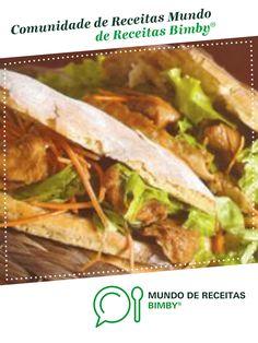 Pita shoarma de Equipa Bimby. Receita Bimby<sup>®</sup> na categoria Pratos principais Carne do www.mundodereceitasbimby.com.pt, A Comunidade de Receitas Bimby<sup>®</sup>.