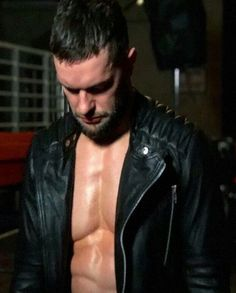 Finn Bálor Motorcycle WWE Black Jacket