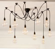 The Edison Chandelier by Adolf Loos for Pottery Barn.