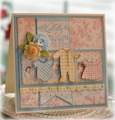 Lullaby Baby by PaperPunchScissors - Cards and Paper Crafts at Splitcoaststampers