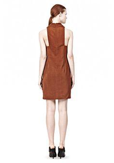 Folded V-Neck Tank Dress Thumb