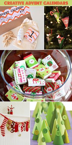 Advent Calendars That Make Your Christmas Countdown Way More Fun. Whether you want a grown-up or kiddie version, there's a calendar . Christmas Countdown, Christmas Calendar, Homemade Advent Calendars, Diy Advent Calendar, Calendar 2014, Alternative Advent Calendar, Calendar Notes, Countdown Calendar, All Things Christmas