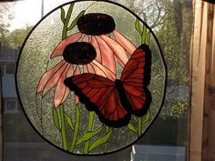 Butterfly - from Delphi Artist Gallery by Justus Stained Glass