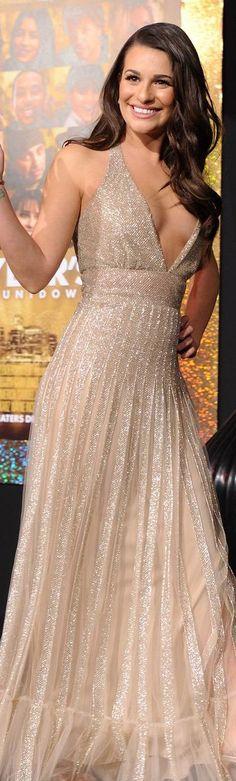 Lea Michele in Valentino <3